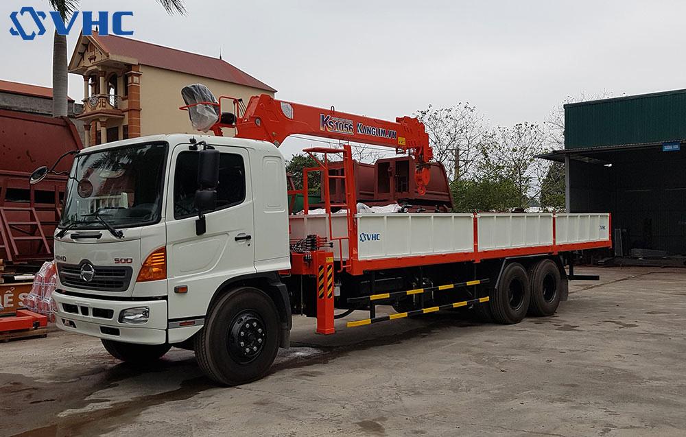 Mua xe cẩu tự hành 3.5 tấn hỗ trợ trả góp lãi suất ưu đãi tại Hà Nội