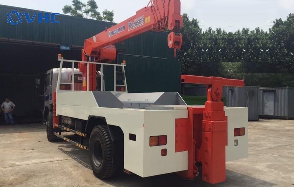 Howo & KS5206 trở máy công trình