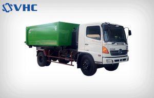 Xe chở rác thùng rời ( Xe Hooklift )