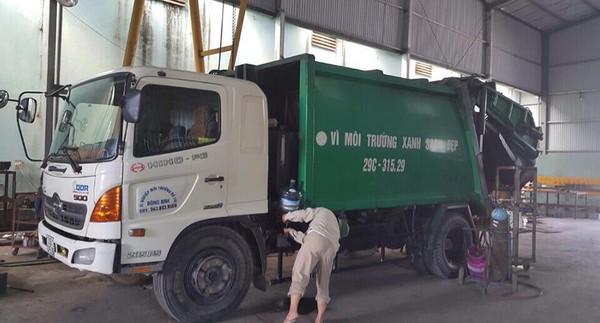 Dịch vụ sửa chữa xe chuyên dụng ngành môi trường