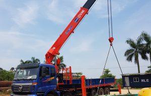 cẩu tự hành kanglim 15 tấn