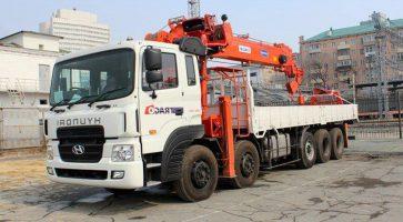 Thông tin về cẩu tự hành Kanglim 15 tấn KS5206 nóng nhất Vịnh Bắc Bộ!