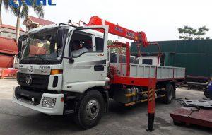 xe cẩu tự hành 5 tấn kanglim