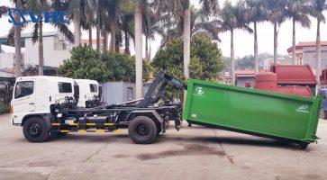 Xe ô tô chở rác DK – VHC