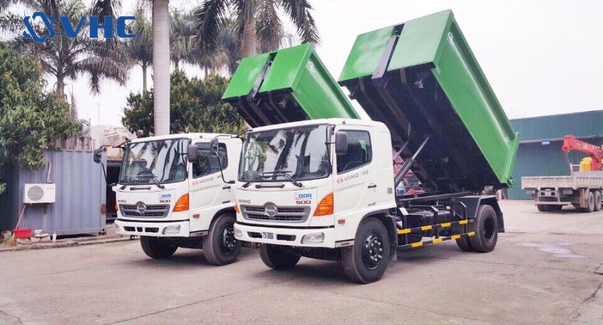 Mua xe chở rác thải thùng rời giá cạnh tranh nhất Hà Nội | Chất lượng cao