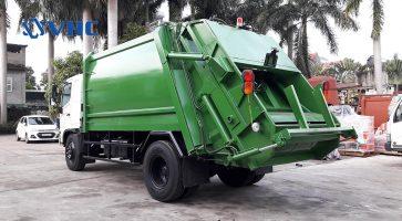 Ưu điểm vượt bậc của xe thu gom rác tự làm sạch