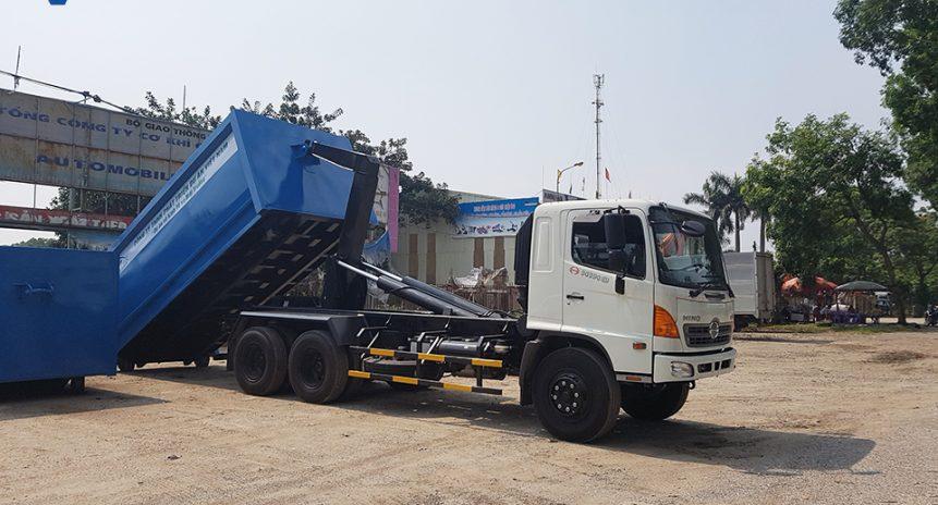 Đơn vị bán xe chở rác Hooklift tại Hà Nội giá tốt nhất