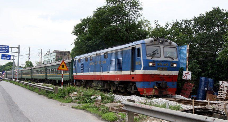 Đường sắt lần đầu khai trương tàu container lạnh chạy tuyến Bắc – Nam