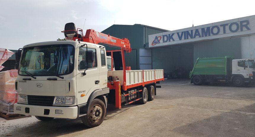 Xe tải gắn cẩu 5 tấn Hyundai HD240 giải pháp cho những khách hàng khó tính
