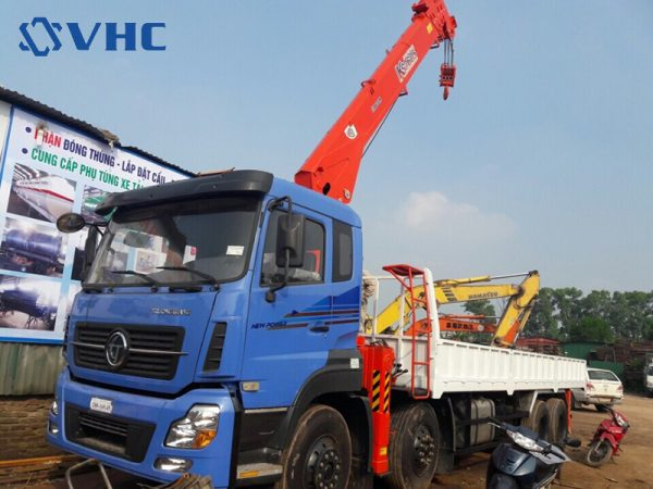 Dongfeng Trường Giang 8x4 & KS2605
