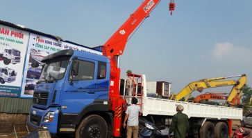 10 lý do chứng minh xe tải Dongfeng gắn cẩu tự hành Kanglim là sự lựa chọn thông minh