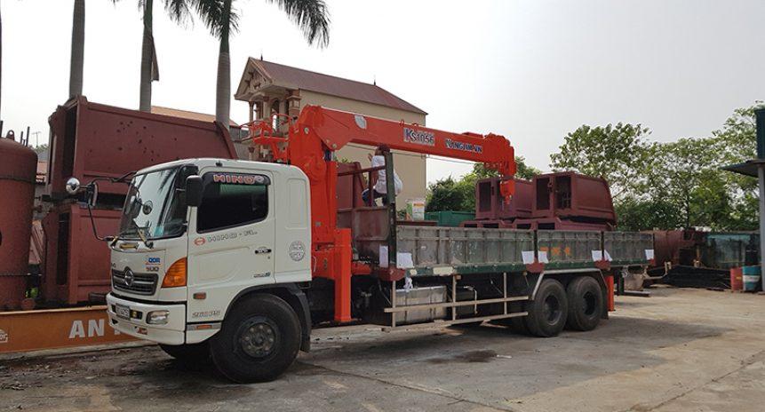 Lý do tại sao xe tải Hino gắn cẩu tự hành Kanglim lại được khách hàng tin dùng đến vậy?