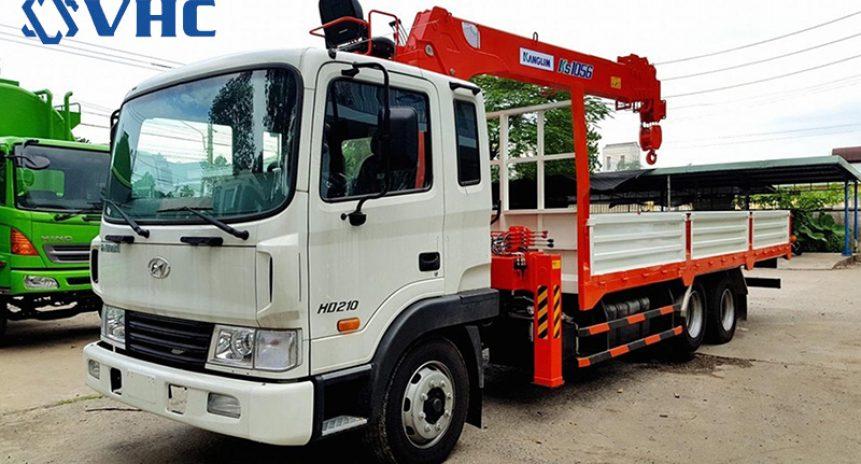 Cho thuê xe cẩu tự hành 1 tấn giá tốt tại Hà Nội