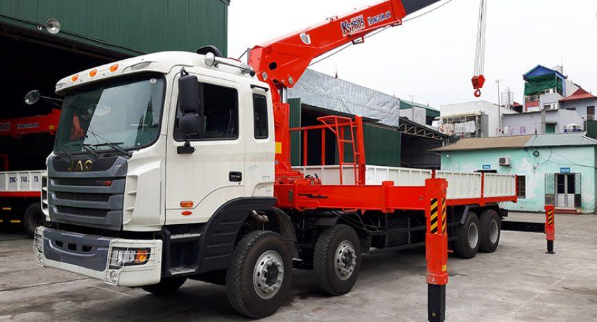 Uu điểm vượt bậc khi sử dụng xe tải gắn cẩu