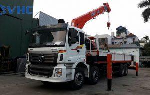 Cẩu tự hành 10 tấn Thaco Auman