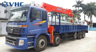 Những điều bạn nên biết về xe tải gắn cẩu 10 tấn Kanglim KS2605