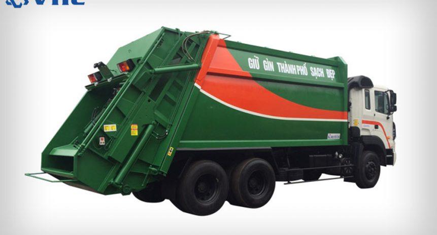 2 dòng xe thu gom rác thải thông dụng nhất hiện nay