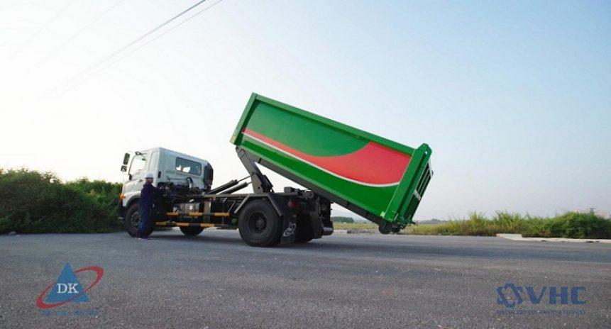 Tại sao xe chở rác Hino được nhiều khách hàng lựa chọn