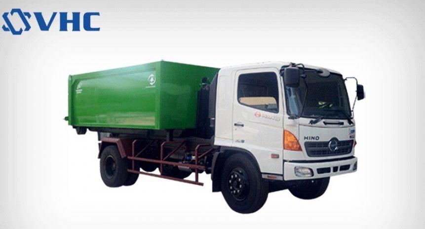 Bán xe chở rác, bán xe cuốn ép rác tiêu chuẩn Hàn Quốc