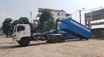 Các loại xe ép rác chuyên dụng