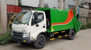 Ưu điểm vượt trội của xe ép rác Hino 14 khối
