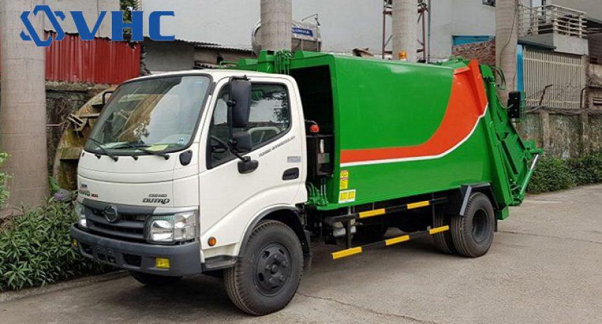 Xe ép rác Hino giải pháp tuyệt vời bảo vệ môi trường