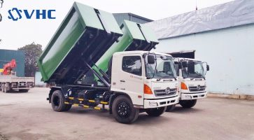 Bán xe chở rác, xe cuốn ép rác hỗ trợ trả góp lãi suất thấp nhất tại Hà Nội