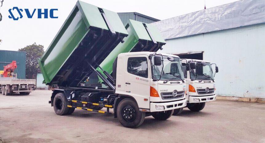 Bán xe chở rác chuyên dụng trả góp giá tốt nhất Hà Nội