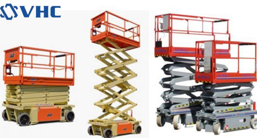 Báo giá xe nâng người tự hành làm việc trên cao