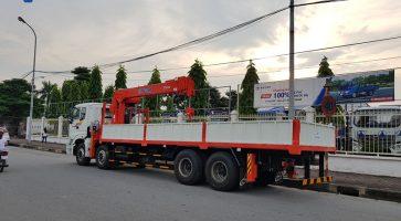 3 Điểm mạnh vượt trội chỉ có ở xe cẩu tự hành – Xe tải cẩu Kanglim