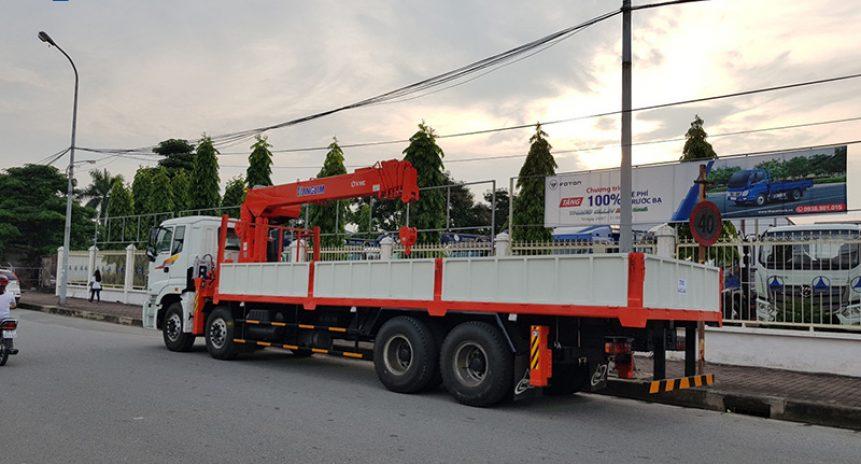 Cho thuê xe cẩu tự hành 10 tấn giá tốt tại Hà Nội