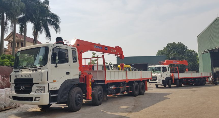 [Báo giá] xe cẩu tự hành Kanglim 8 tấn | Nhập khẩu chính hãng giá ưu đãi
