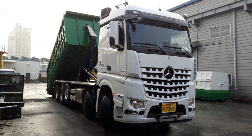 Khả năng vận hành hàng đầu của xe thu gom rác DK Vina Motor