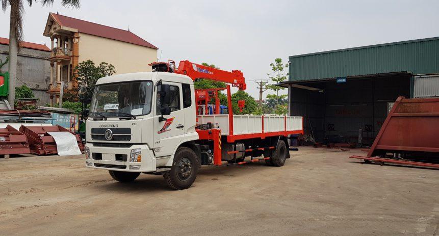 Báo giá xe tải gắn cẩu tự hành 5 tấn Kanglim mới nhất năm 2021