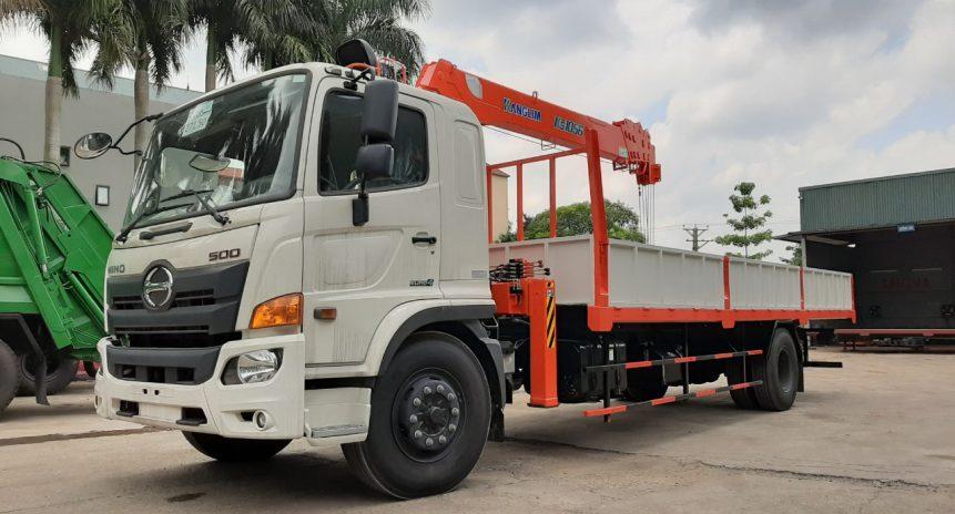Lý do tại sao xe tải Hino gắn cẩu tự hành Kanglim lại được khách hàng tin dùng?