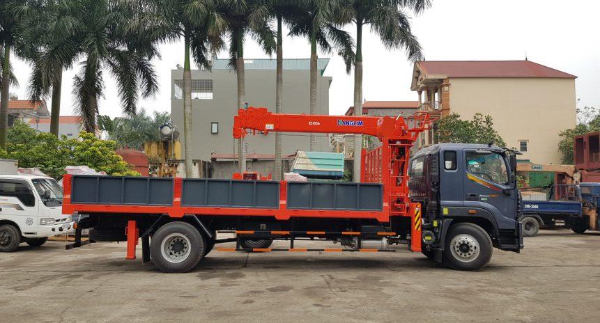 Đơn vị bán cẩu tự hành 5 tấn Kanglim chính hãng chất lượng giá tốt